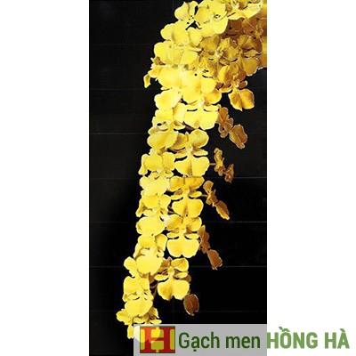 Gạch tranh TMC Tùng Mai Ceramics - Lan vàng