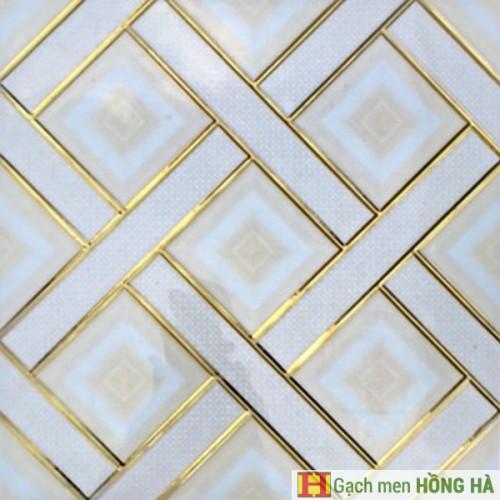 Mã số : TM-3010Gạch 30x30cm nhũ vàng cao cấp - 13