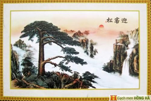 Gạch tranh TMC Tùng Mai Ceramics - Tranh cây bồ đề