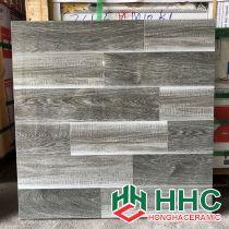 Gạch lát nền 60x60 bóng kiếng vân gỗ xám