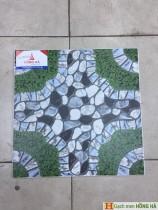 Gạch lát nền 40x40 sân vườn đẹp - quận 11
