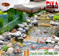 Gạch sàn 3D floor - Pita GS002