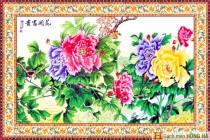 Gạch tranh TMC Tùng Mai Ceramics - Hoa Mẫu Đơn
