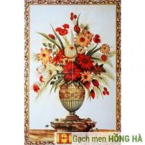 Mã số : HG1906Gạch tranh TMC Tùng Mai Ceramics - Hoa Đồng Tiền - TM-1906