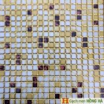Gạch 30x30cm nhũ vàng cao cấp - 02