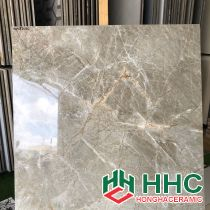 Đá bóng kiếng toàn phần 80x80 đá màng nhện nâu HH8719C