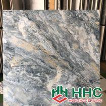 Đá bóng kiếng toàn phần 80x80 vân đá xanh tự nhiên HH8714C