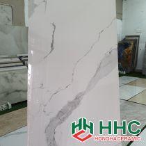 Gạch ốp tường 60x120 trắng tia chớp PH05