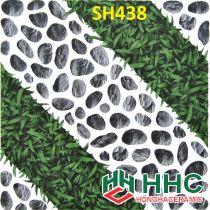 Gạch 40x40 lát sân cỏ sỏi SH438
