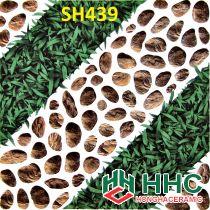 Gạch 40x40 lát sân cỏ sỏi SH439