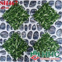 Gạch 40x40 lát sân cỏ sỏi SH467