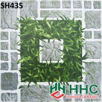 Gạch 40x40 lát sân cỏ giả đá SH435