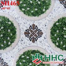Gạch 40x40 lát sân cỏ hoa văn SH465