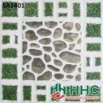 Gạch 40x40 lát sân cỏ sỏi SA1401
