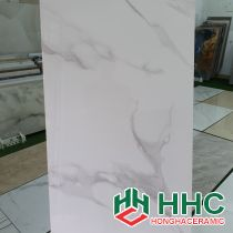 Gạch lát nền 60x120 nhập khẩu trắng loang PH09