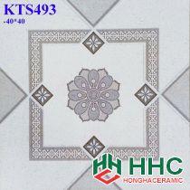 Gạch 40x40 hoa văn KTS493