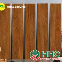 Gạch vân gỗ lát phòng ngủ 15x80 hhc15802ms