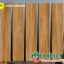 Gạch giả gỗ lát ốp nhà tắm hhc15804ms
