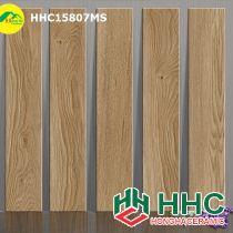 Gạch giả gỗ 15x80 đẹp hhc15807ms