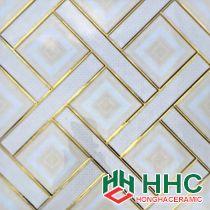 Gạch 30x30cm nhũ vàng cao cấp - 13