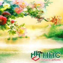 Gạch tranh TMC Tùng Mai Ceramics - Tranh Mùa Xuân