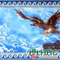 Gạch tranh TMC Tùng Mai Ceramics - Đại Bàng