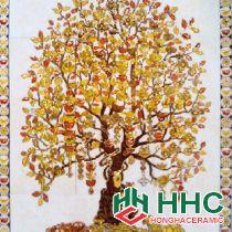 Gạch tranh TMC Tùng Mai Ceramics - Cây Phát Tài 90 x 120cm