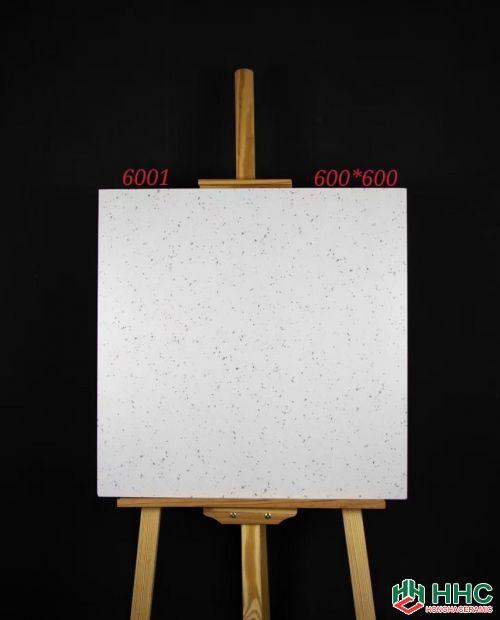 Gạch 60x60 lát nền 6001 trắng muối tiêu